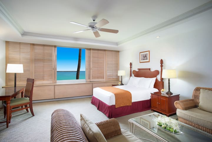 Maui Beach Hotel, Oceanfront Suite w/One King Bed