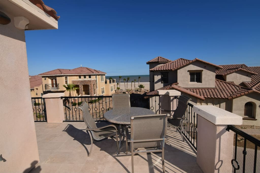 El Dorado Ranch San Felipe Beach rental home - patio chairs