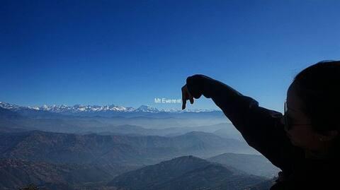Vue sur l'Everest Nagarkot Resort