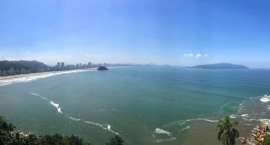 Loft vista ESPETACULAR para o mar. Brisamar