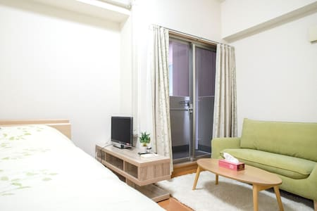 Comfy apartment@ 2 mins walk from JR Namba & OCAT! - 大阪市 - Apartmen