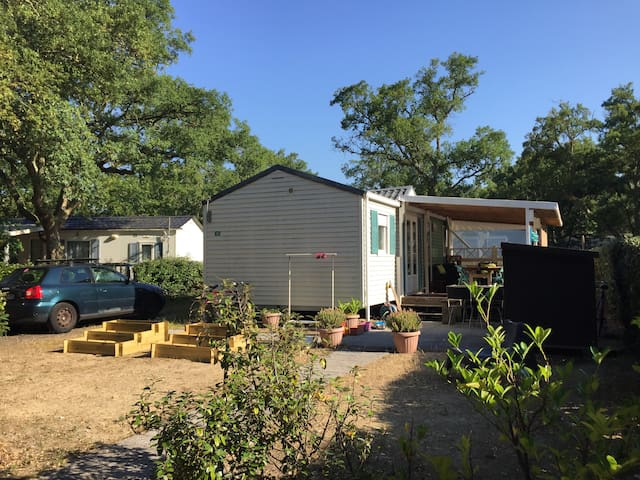 Mobil Home 4 places dans Camping sur Capbreton