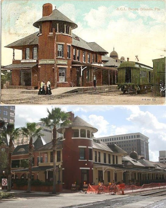 The Depot then & now