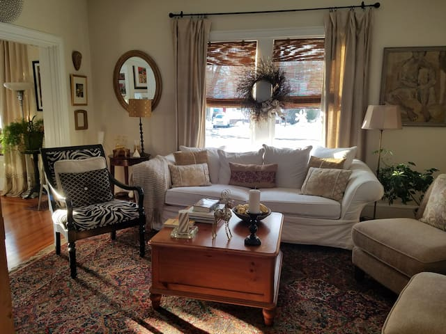 Warm and cozy antique home