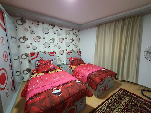 Second bedroom with street view