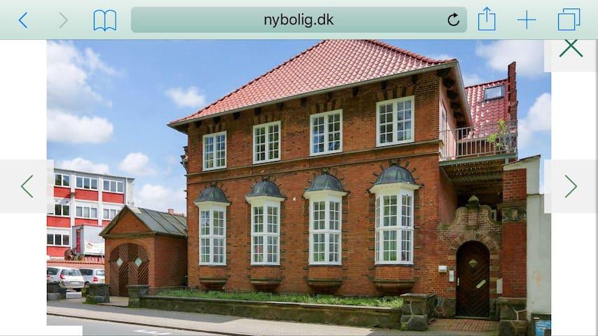 Utrolig charmerende bolig i hjertet af Fredericia