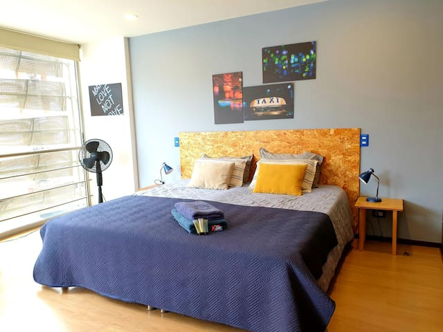 New studio in best location with FREE Netflix !