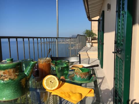 Grimaldi - Spectacular view on the French Riviera!