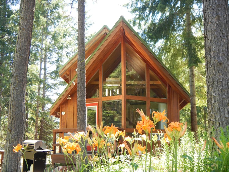 Cozy cabins near majestic mt adams cabins for rent in for Washington state cabins for rent