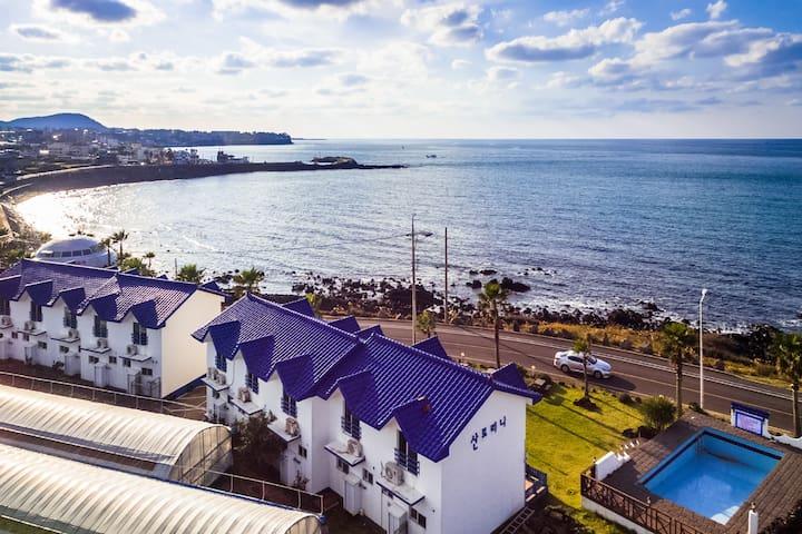 산토리니 블루마린(복층,Ocean view,duplex)