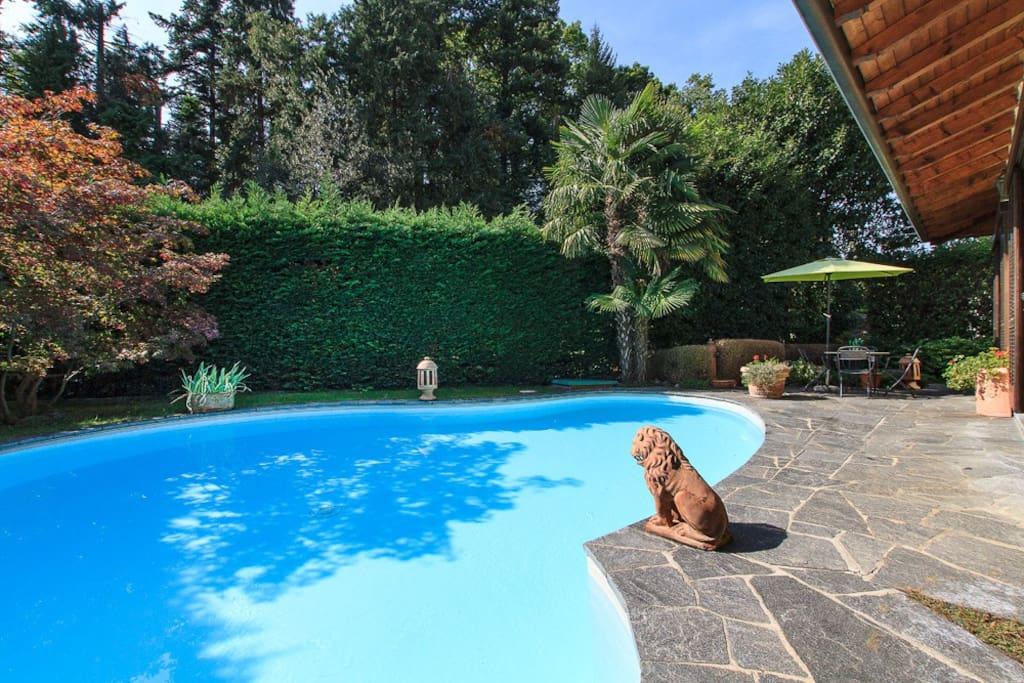 Villa Biganzolo with private pool in Verbania, Lake Maggiore Italy