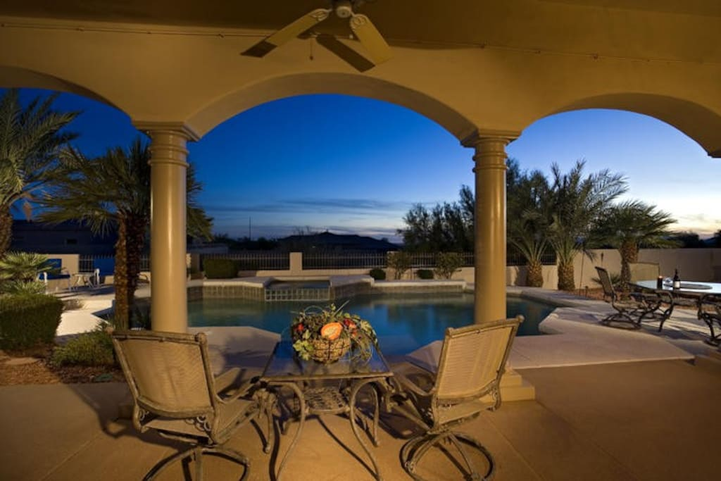 Your Private Patio, Pool and Hot Tub