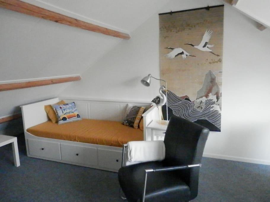 Bed en relax fauteuil