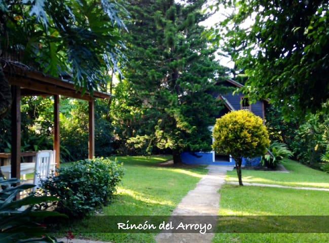 Villa Rincón del Arroyo Eco Lodge - Jarabacoa - Jarabacoa - Naturhytte