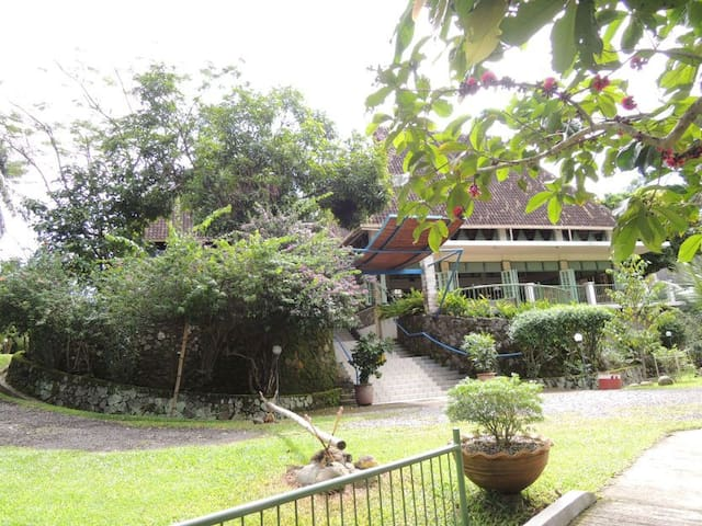 Cottages in tropical garden - Medan - Alpstuga