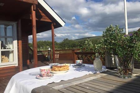 Ullarskarð, cottage. Borgarfjordur West Iceland.
