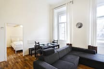 Great Ruterra flat for sightseeing