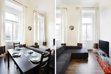 Bright 4 room apartment in the heart of Prague up to 9 people