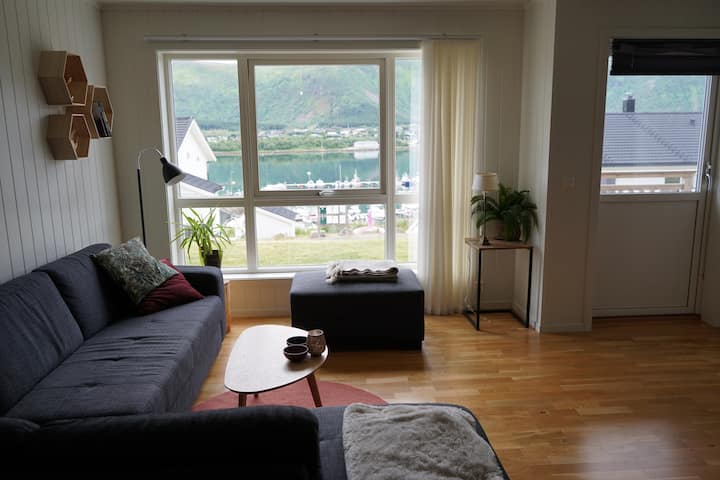Nice apartment in Vesterålen with beautiful view