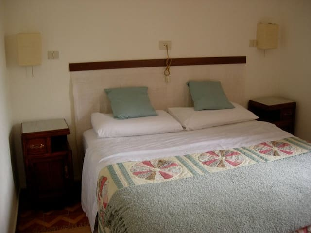 Three cool and restful bedrooms - 2 double, 1 twin sleep up to six people.