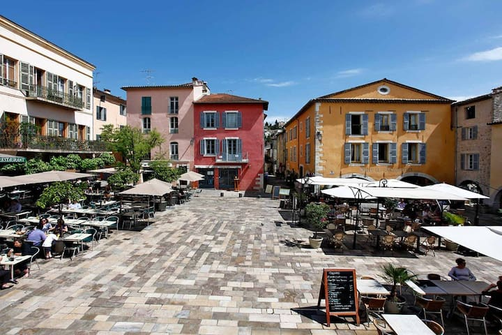 Luxury Apartment on old Square - Valbonne
