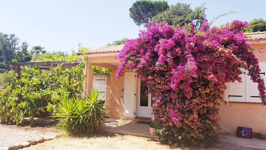 Bright and spacious villa, 5 mn from the beaches