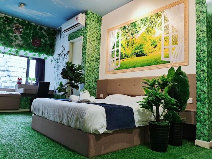 Imperio Residence @Maleka 森林绿色主题房子