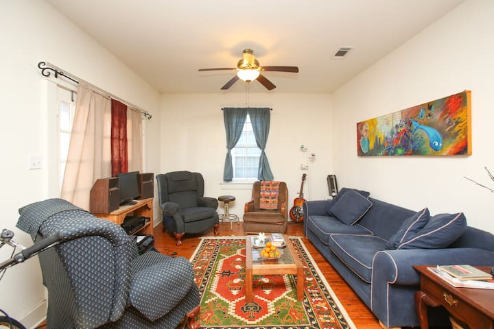 Cozy Room w/ Private Bath and Bike! - New Orleans - Huis