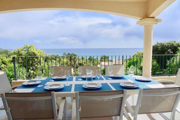 Villa Valle Longa - Vue magnifique sur la mer - Zonza - Villa