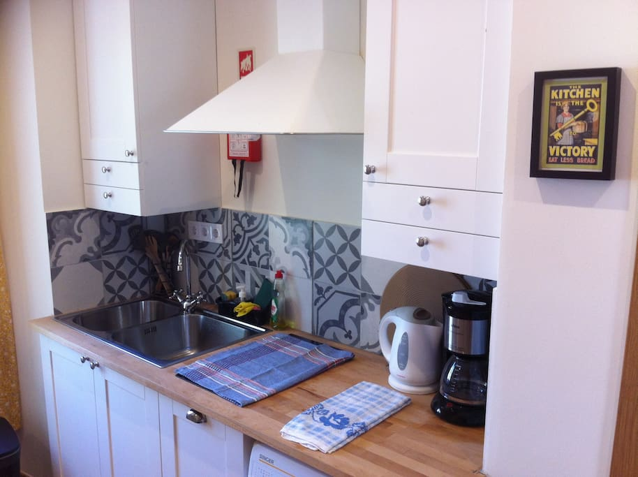 Cozy fully equipped kitchen