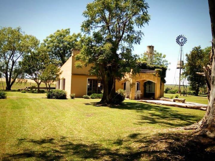 Casa de campo, con excelente paisaje rural, WiFi.