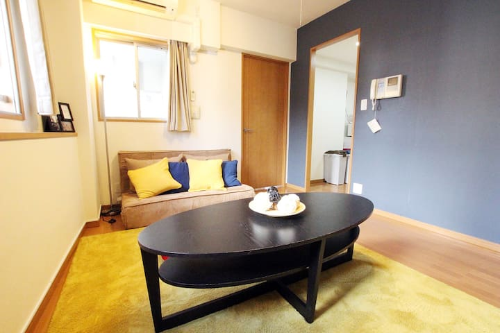 [ASAKUSA] 2 min to sta. SUNNY ROOM w/ pocket WIFI - Taitō-ku - Apartament