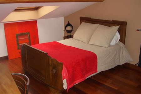 Chambre dans grande maison au calme - Rumah