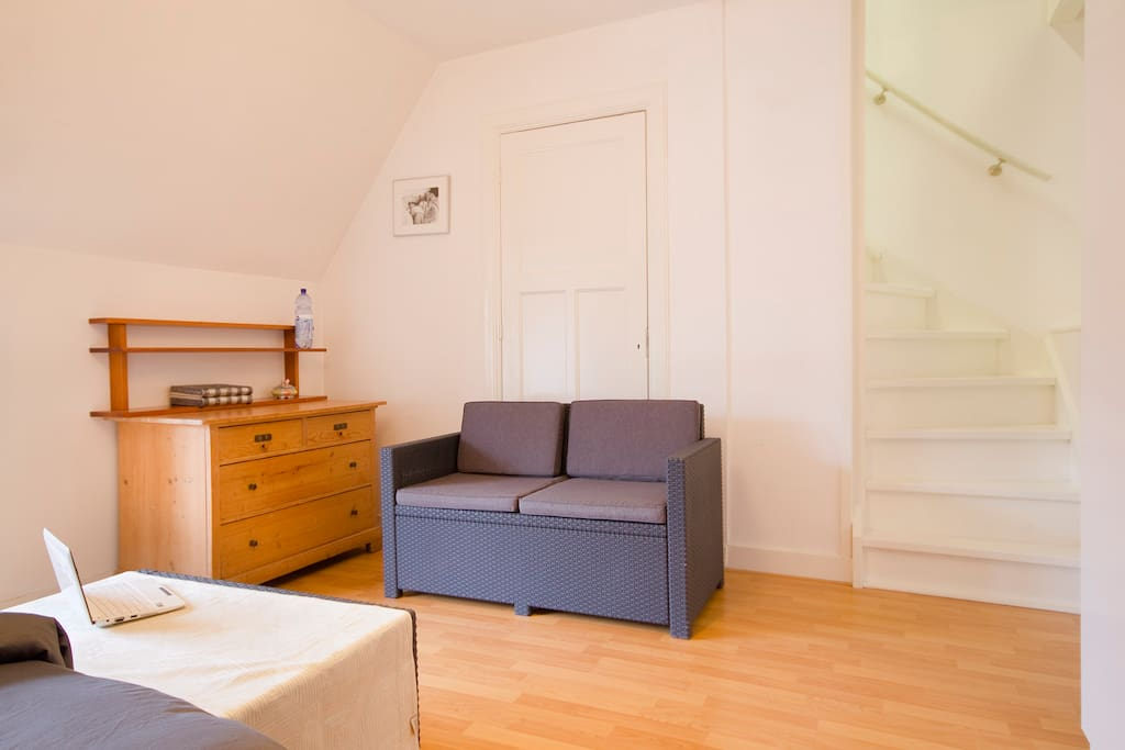 Nice big appartment near center and vondelpark chambres for Chambre d hotes nice