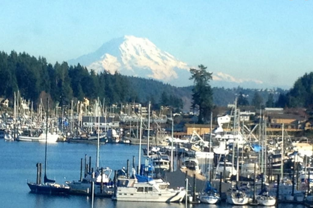 Downtown Gig Harbor- Harbor View