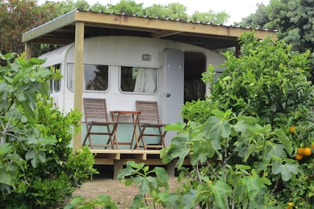Caravan in orchard, Doubtless Bay - Mangonui - Kabin