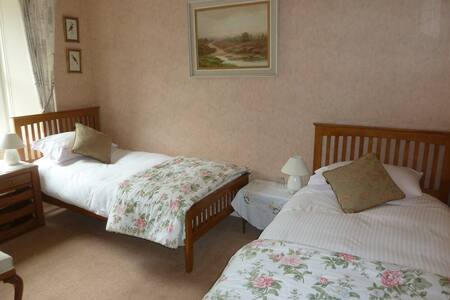 Ensuite twin room in The Old Manse B&B