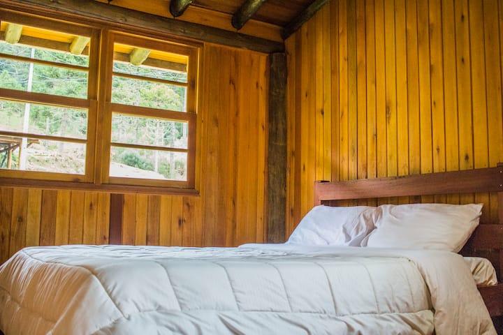 Quarto casal Hostel - Desfrute Natureza, Orgânicos
