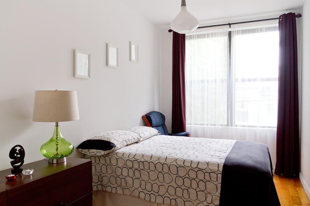 Bedroom with private bathroom appartements louer - Bel appartement de ville brooklyn new york ...