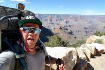 Caleb has actually hiked the Grand Canyon! Rim to rim!