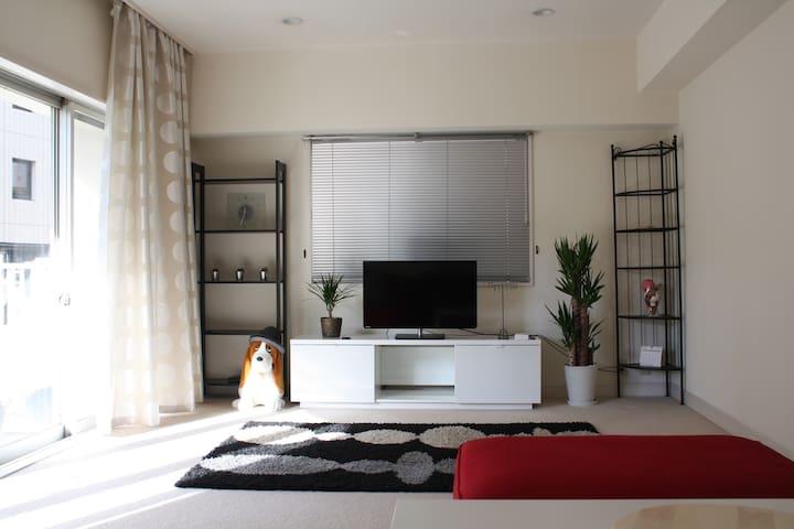 Cozy living in the heart of Tokyo! - Minato - Apartamento