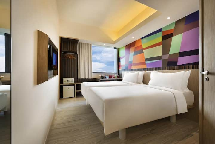 Jurong east genting 云顶裕廊东酒店新加坡4星级酒店白菜价格18平方2个人入住