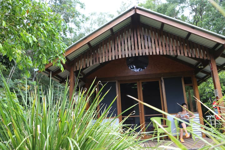The Hut -- Bellingen acreage - Gleniffer - キャビン