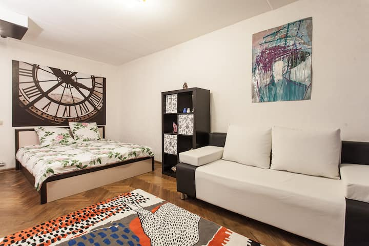 NYC style apartment - Moscow center