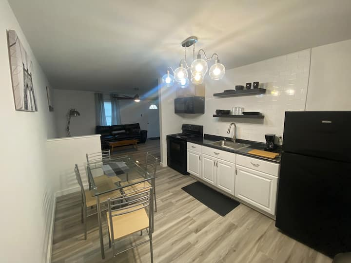 B-A two bedroom apt with everything you need