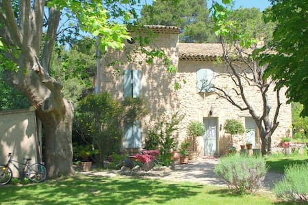 stone country house in the Luberon - Cheval-Blanc