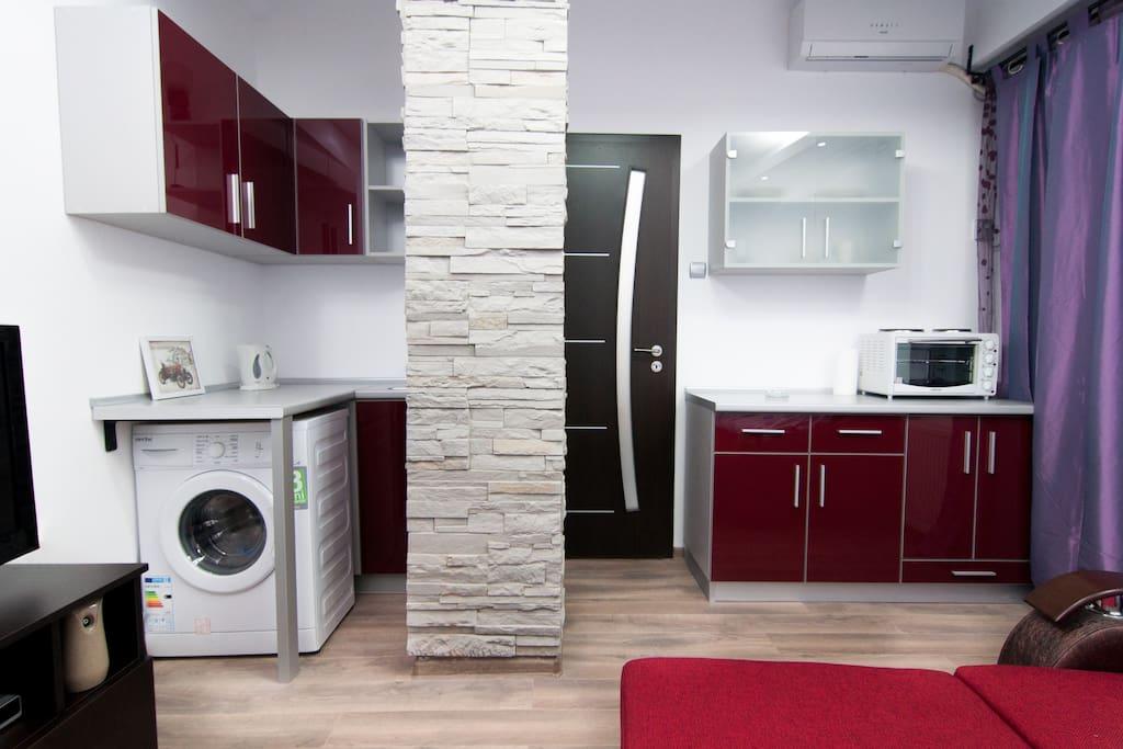 Chic deco studio apartments for rent in bucharest bucharest romania - Deco studio m ...