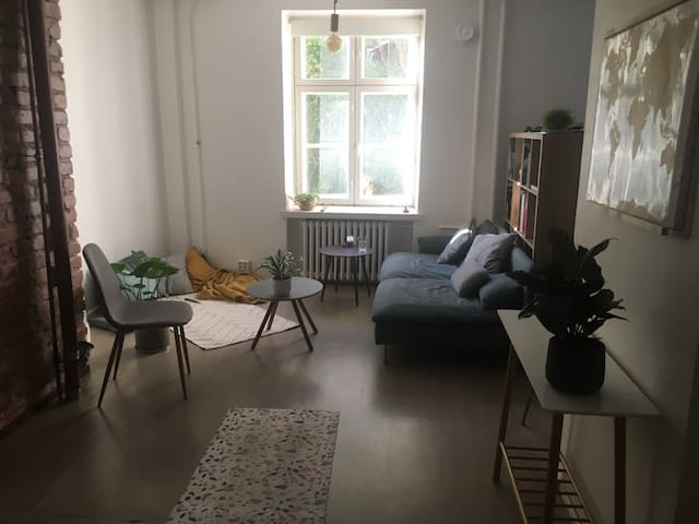 Spacious & stylish studio apartment in Punavuori