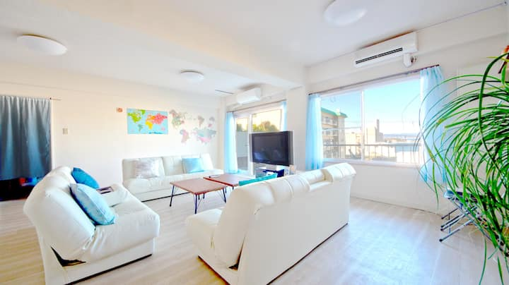 W8: Shirahama/No sharing/6 bedrooms/Free WiFi