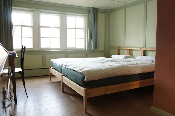 Room with own bathroom in the Heart of Appenzell